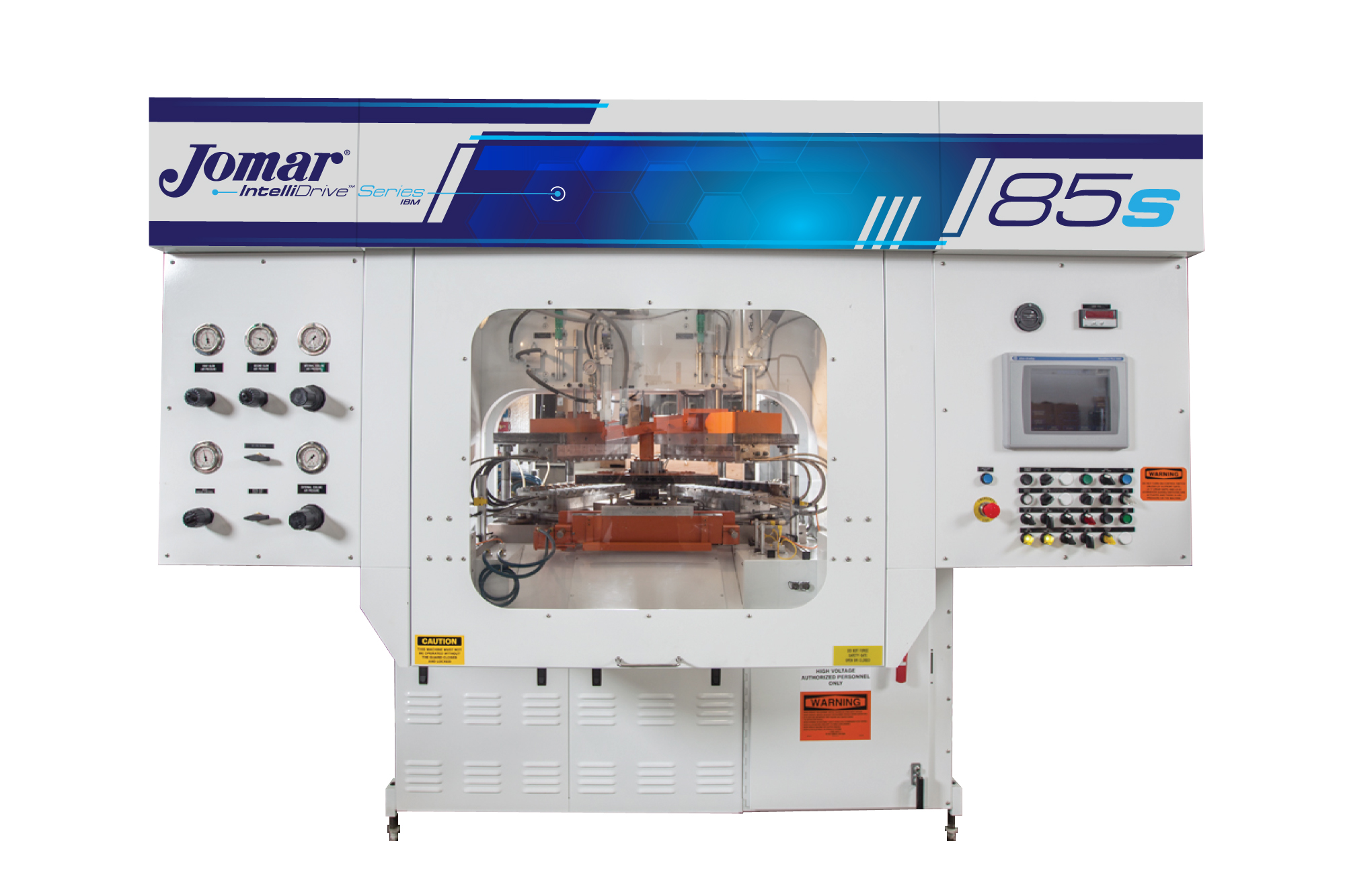 Jomar IntelliDrive injection blow molding machine